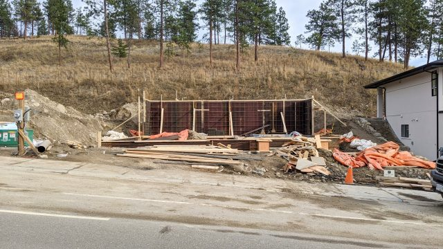 Hidden Lake Lot-6 - Foundation Going Up