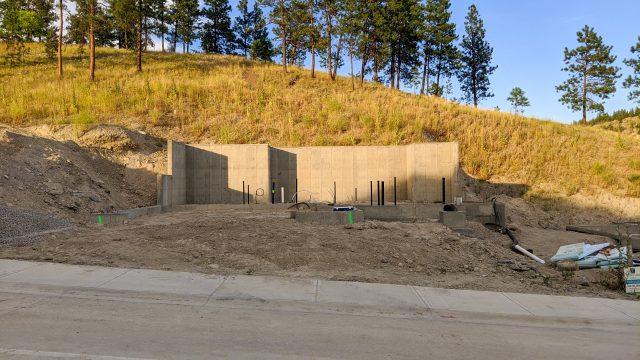 Hidden Lake Lot-7 Foundation Up