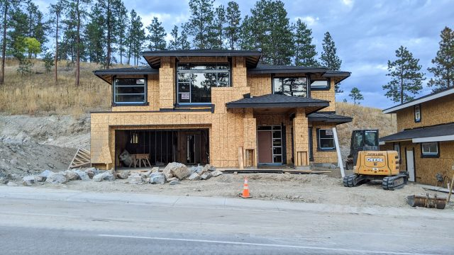 Hidden Lake Lot-7 - Roofing and Windows Completed