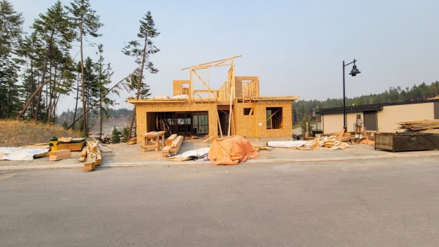 Hilltown Lot-1, Framing Almost There