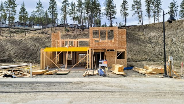 Hilltown Lot-10, Framing Almost Done