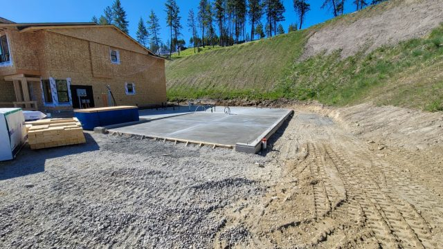 Hilltown Lot-9, Foundation Done
