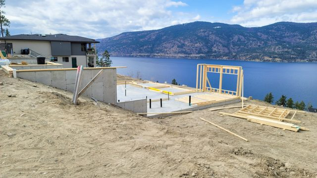 McKinley Beach Lot 10S4 – Framing Started
