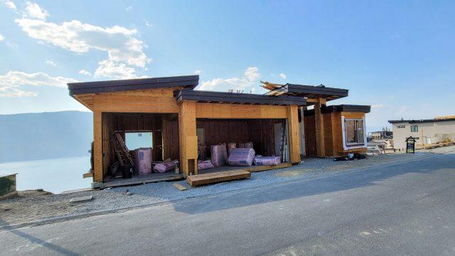 McKinley Beach Lot 10S4, Insulation Being Installed