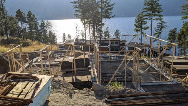 McKinley Beach Lot 12s5s - Footings In Place