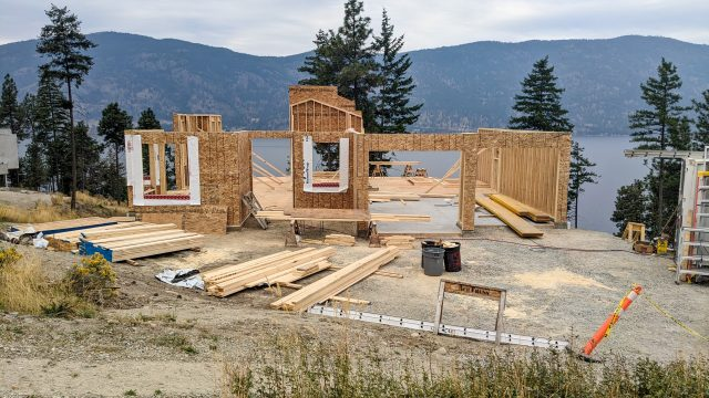McKinley Beach Lot-12s5s - Framing Coming Along Nicely