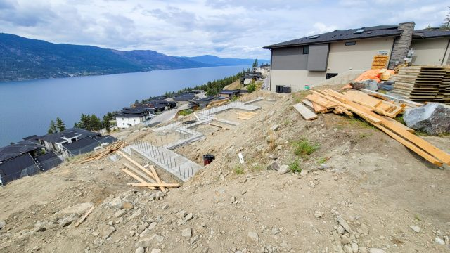 McKinley Beach Lot 13S4 – Footings Are In