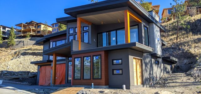 McKinley Beach Lot 16, More Siding and Finishes