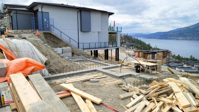 McKinley Beach Lot-17, Footings Ready To Go