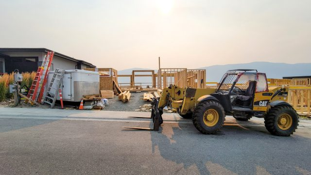 McKinley Beach Lot-17, Framing Continued