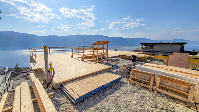 McKinley Beach Lot-17, Framing Progress