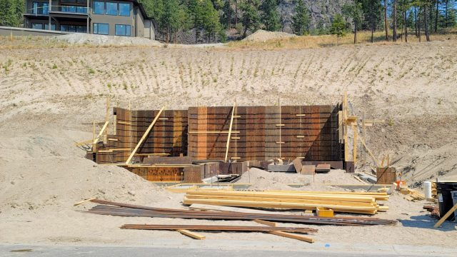 McKinley Beach Lot 18S4, Foundation Prep