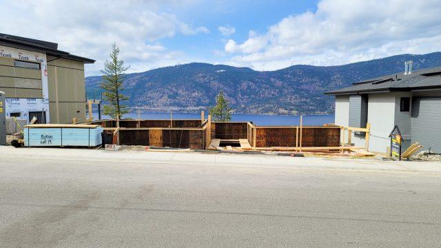 McKinley Beach Lot-19, Foundation Ready To Pour