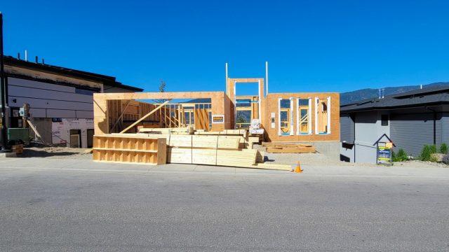 McKinley Beach Lot-19, Framing The Next Floor