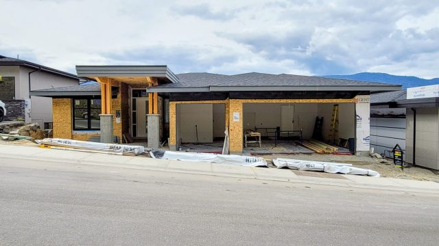 McKinley Beach Lot 21S3 – Drywall Done and Siding Prep