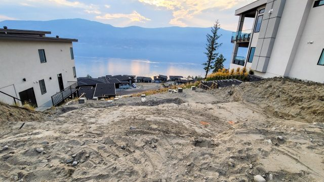 McKinley Beach Lot 3, Supports and Lot Prep