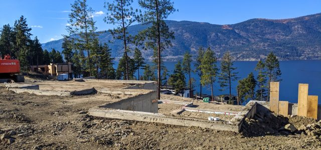 McKinley Beach Lot 30, Foundation Done