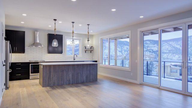 McKinley Beach Lot 7 - Open Kitchen to Living Room