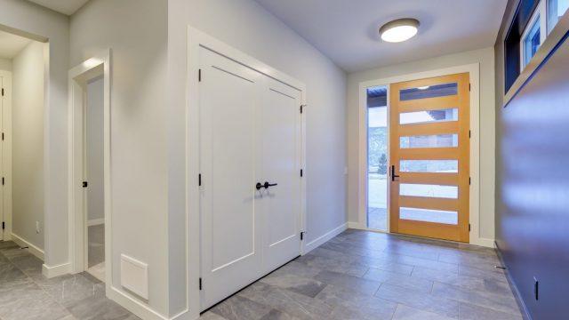 McKinley Beach Lot 7 - Entry way, Custom Doors