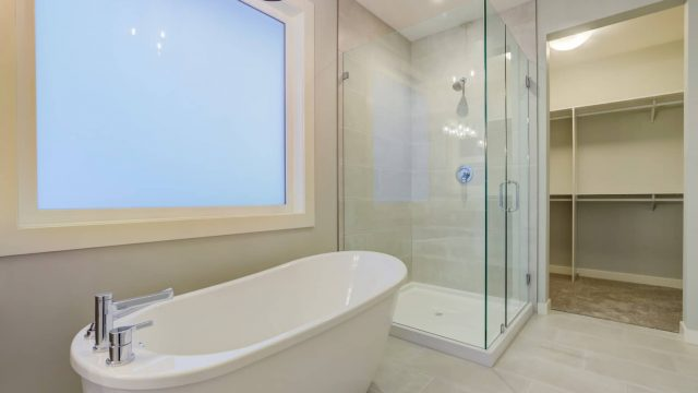 McKinley Beach Lot 7 - Free standing tub and glass shower
