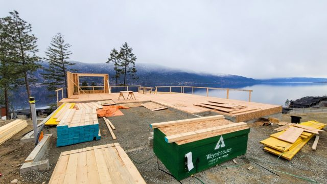 McKinley Beach Lot-9s5s - Framing Coming Along Nicely
