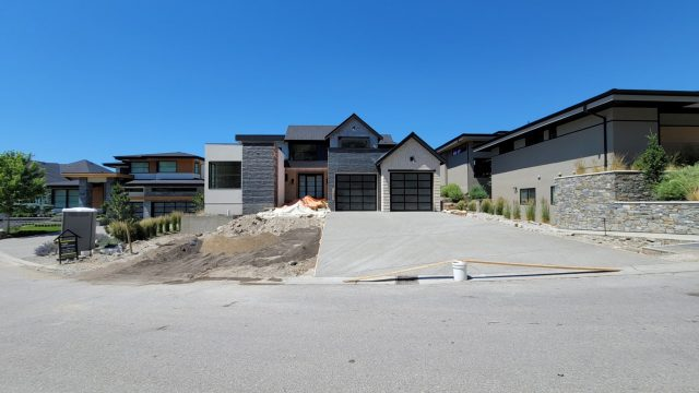 Red Sky Court Lot 75 – Driveway Completed