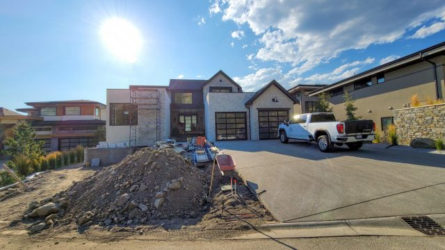 Red Sky Court Lot 75 – Masonry Almost Complete