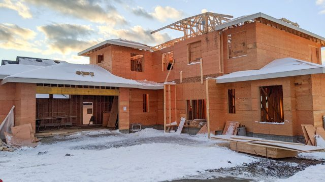 Red Sky Court Lot 81, Framing Almost Done