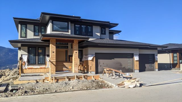 Red Sky Place 47, Driveway Completed