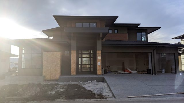 Red Sky Place Lot 38, Driveway Done!