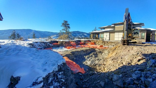 Red Sky Place Lot 38, Finishing Ground Prep