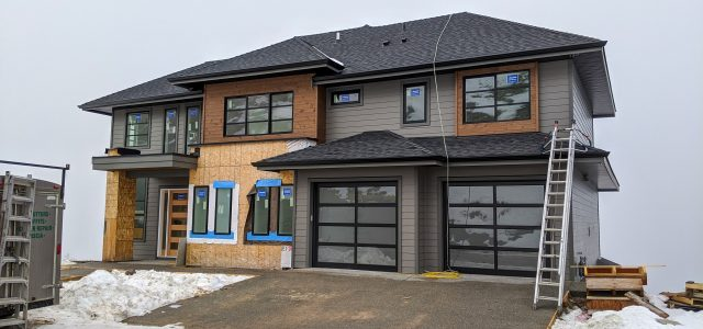 Red Sky Place Lot 55, Garage Doors Are In