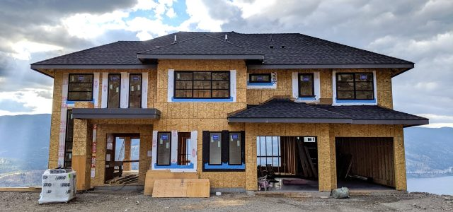 Red Sky Place Lot 55, Roof Completed