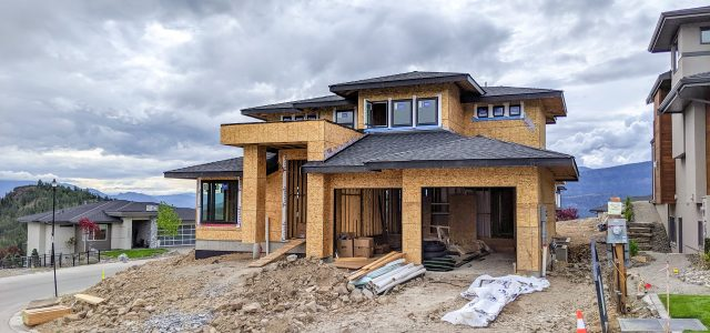 Rocky Point Lot 17, Interior Work Being Done
