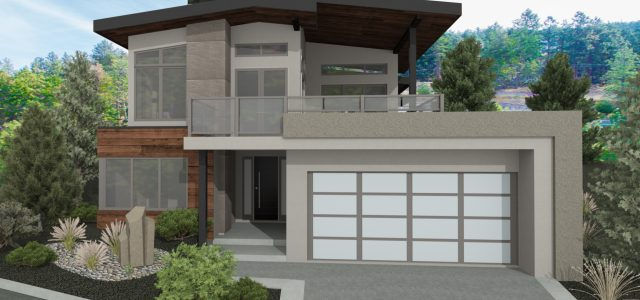 The Serenity Custom Home Plan Rendering