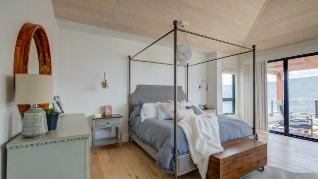 Wilden Custom Home - Millers (25), Vaulted ceiling bedroom