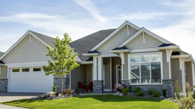 The Prestwick Custom Home Floor Plan Exterior
