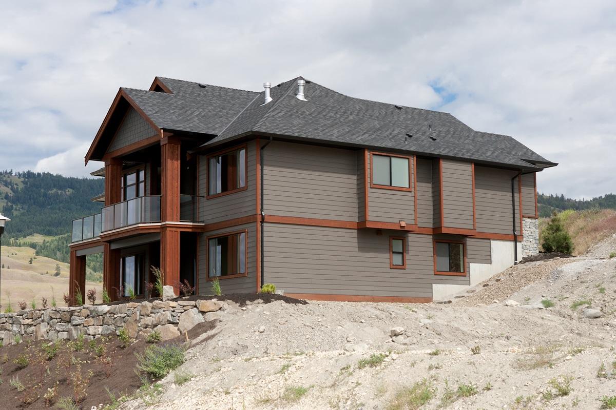 The Prestwick - Custom Home Floor Plan Exterior Rear