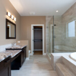 Black Mountain Master Bathroom