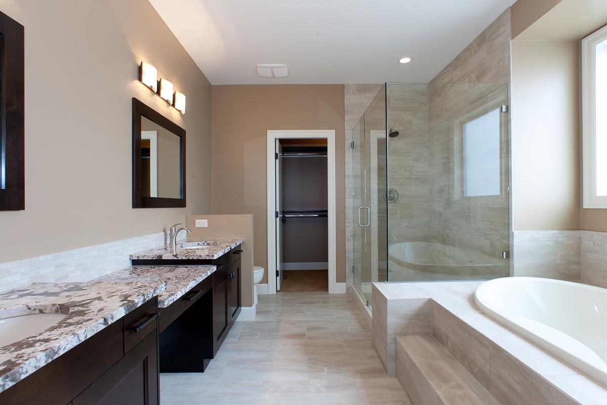 The Prestwick - Custom Home Floor Plan Bathroom Ensuite