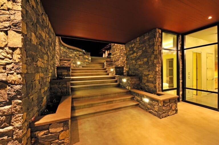 Sheerwater - exterior stairs