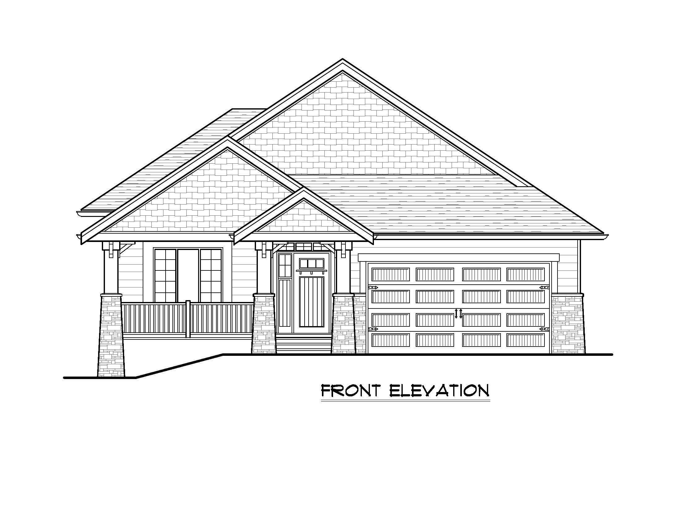 The Rindle - Custom Home Floor Plan 1