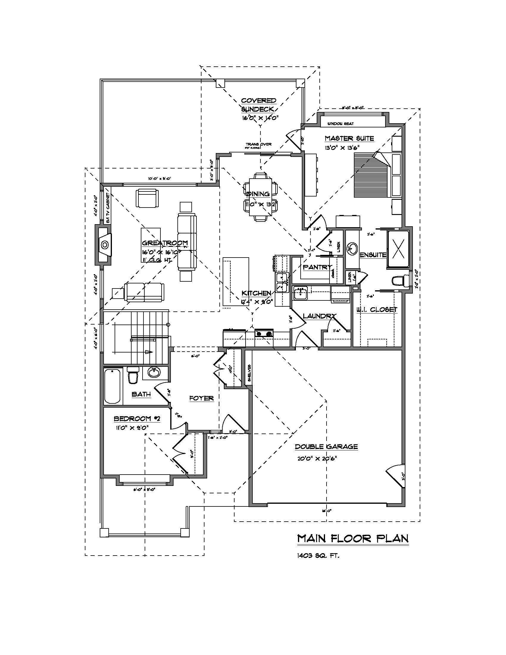 The Rindle - Custom Home Floor Plan 3